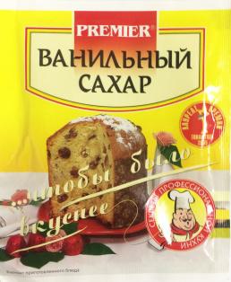 Ванильный сахар PREMIER 20г1/30