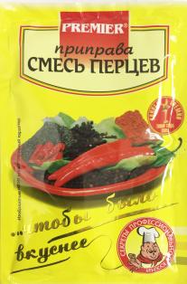 """Приправа """"Смесь перцев"""" PREMIER 15 г1/30"""