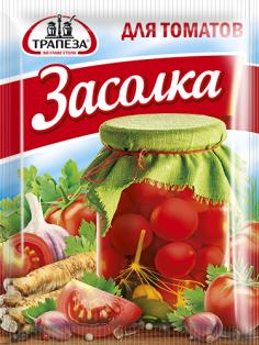 """Приправа """"Для засолки томатов"""" ТМ Трапеза, пакет 30г. 1/30"""