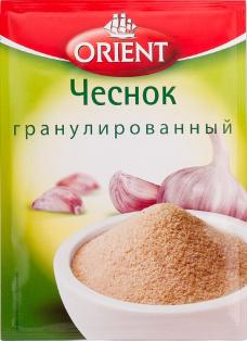 Чеснок гранулированный ORIENT, пакет 12 г. 1/35