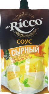 "Соус MR ""Сыр"" Д/П 210 гр. 1/16"