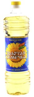 Масло подсолнечное Золотая Семечка 0,5л 1/24
