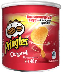 Чипсы Pringles Оригинал 40 гр. 1/12