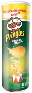 Чипсы Pringles Сыр/Лук 165 гр. 1/19