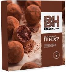 Пирожное мини Шоколадный птифур трюфель Baker House 225 гр. 1/10