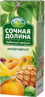 Сокосодержащий напиток Мультифруктовый 0,2л 1/24