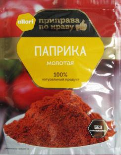 Паприка (перец красный сладкий) АЛЛОРИ 10 гр 1/30