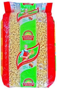 Макароны спираль Петровские Нивы 5 кг 1/4