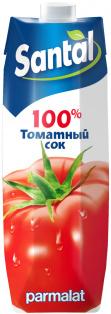 """Сок Santal """"Томатный"""" 1 л (тетрапризма) 1/12"""