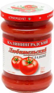 Соус Любительский сладкий с/б 280 1\8
