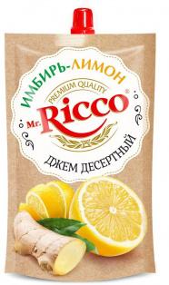 Джем десертный Имбирь-лимон ТМ MR Ricco д/п 300г 1/16