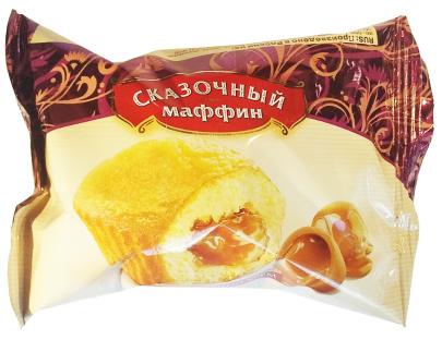 Маффин мини карамельный Сказочный 33,3 гр. 1/45