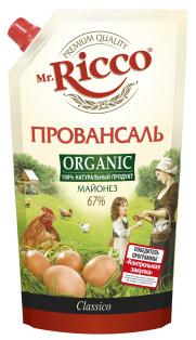"""М-з MR ORGANIC """"Провансаль"""" Д/П 67% 400мл. 1/12"""