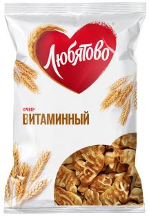 """Крекер Витаминный 300г 1/12 ТМ""""Любятово"""""""