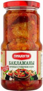 Баклажаны печёные в т/с Пиканта 520 г 1/6
