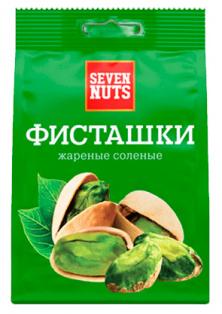 """Фисташки жареные соленые ТМ """"Seven Nuts"""" 150г 1/12"""