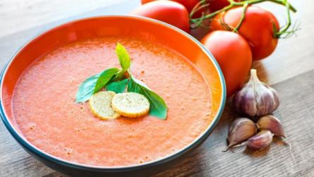 Крем-суп из печеных перцев