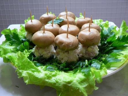 "Закуска (салат) ""Грибная поляна"""
