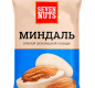"""Миндаль в белой шоколадной глазури ТМ """"Seven Nuts"""" 50г 1/20"""