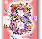 Шоколад молочный 8 марта (цветы) 100г 1/26