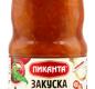 Закуска Венгерская Пиканта 480 г 1/6