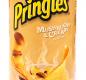 """Картофельные чипсы со вкусом белых грибов со сметаной т.м. """"Pringles"""" 165 гр 1/19"""