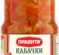 Кабачки печёные в т/с Пиканта 520 г 1/6