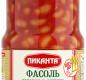 Фасоль печёная в аджике Пиканта 530 г 1/12